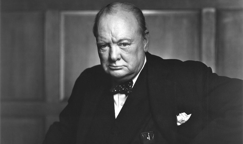Winston Churchill – The Savage